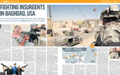 Fighting insurgents in Baghdad, USA